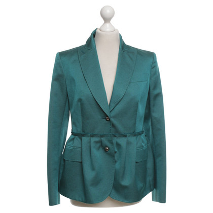 Moschino Cheap and Chic Blazer in turquoise