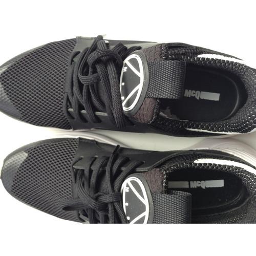 Mcqueen Schwarz Mcq Leder Hand In Aus Second Alexander Sneakers qUVpGMSz