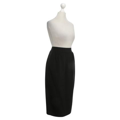 Hermès skirt in black