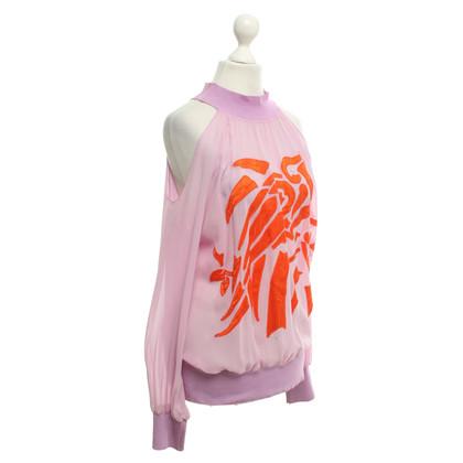 MCM Blouses shirt met borduurwerk