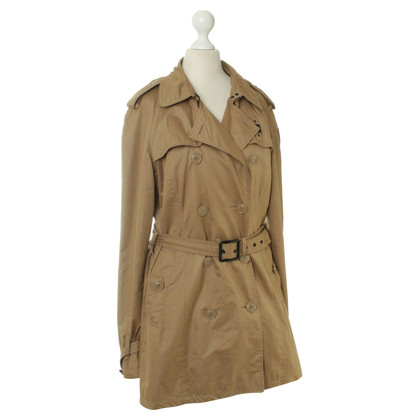 Blauer USA Trench coat in Cognac