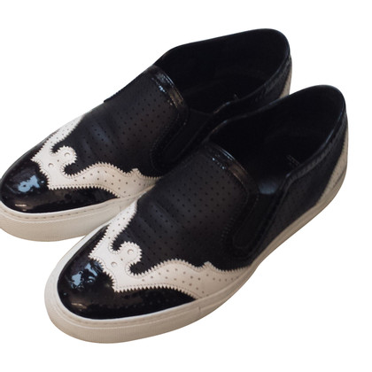 Givenchy Slipper in zwart / White