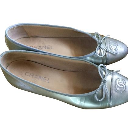 Chanel Silver Ballerina