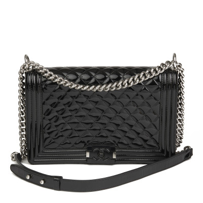 60377921d2 Chanel Boy Bag Medium in pelle nera