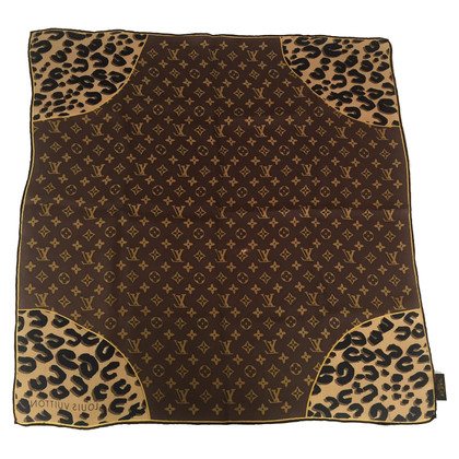 Louis Vuitton Silk scarf with pattern