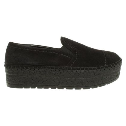 Prada Suède platform-slippers