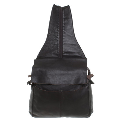 Donna Karan Dark brown backpack