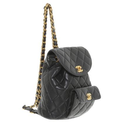 Chanel Backpack in black