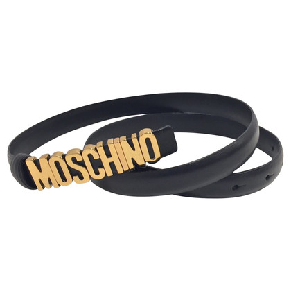 Moschino Belt with logo clasp