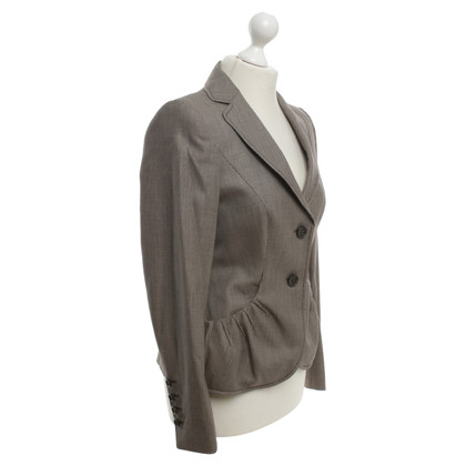 Escada Blazers dans Brown / Beige