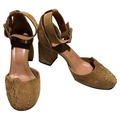 Red Valentino Sandaletten aus Wildleder