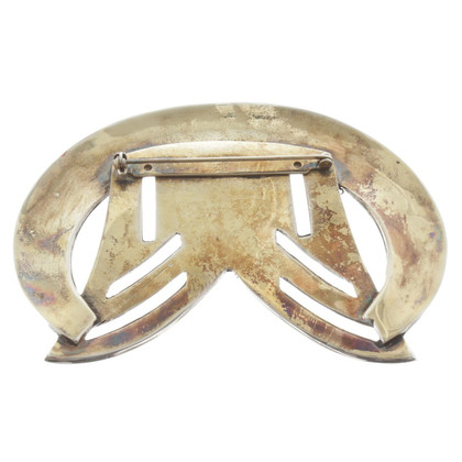 Karl Lagerfeld métal Broche