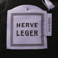 Hervé Léger Kleid in Schwarz