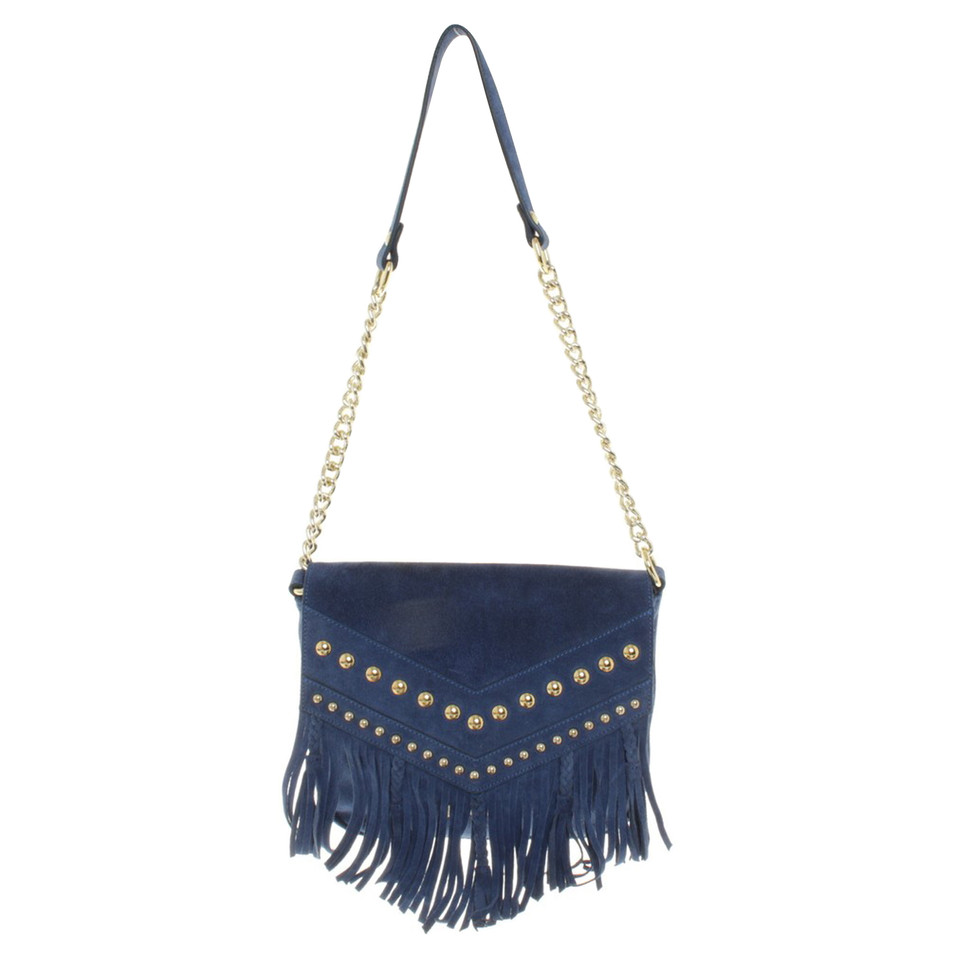 Just Cavalli Shoulder bag with fringes