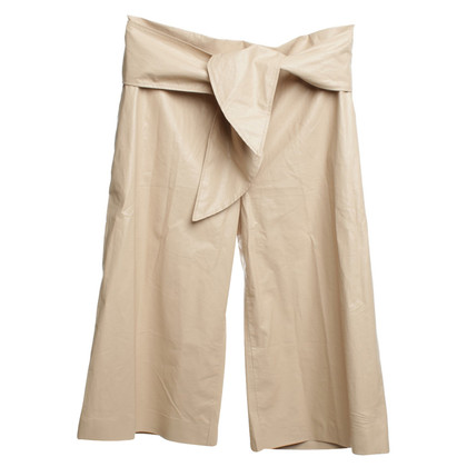 MSGM 3/4 trousers in nude