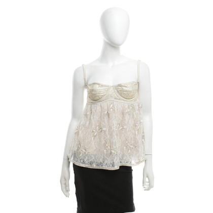 D&G Top con pizzo