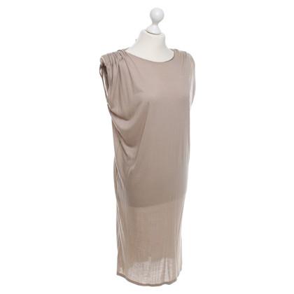Lanvin Jersey-Kleid in Beige