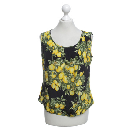 Escada top with a floral print