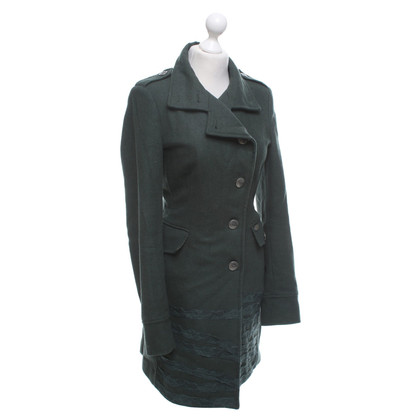 Liu Jo Coat in dark green
