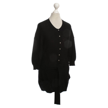 Louis Vuitton Strickjacke in Schwarz