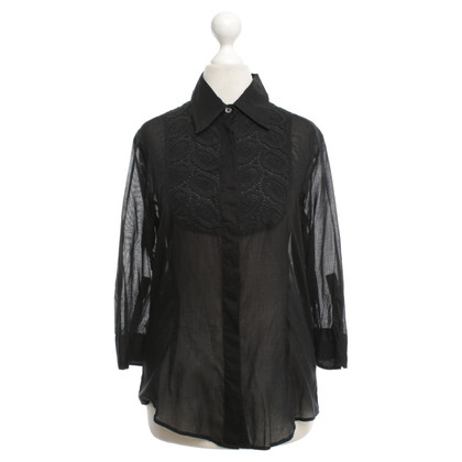 Burberry Bluse in Schwarz