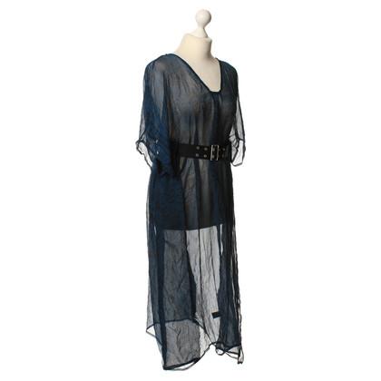 Antik Batik zijden jurk afdrukken