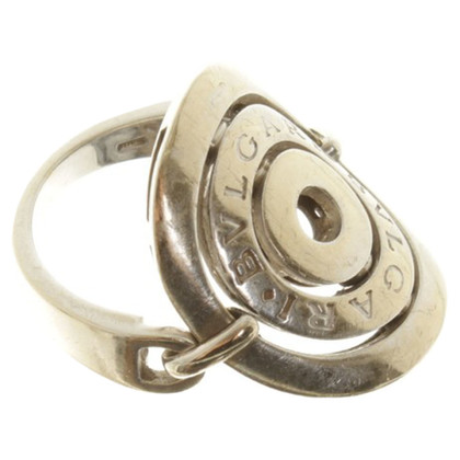 Bulgari Bague en or blanc
