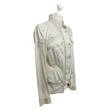 Marithé et Francois Girbaud Summer jacket with many pockets