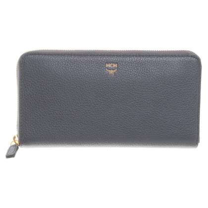 "MCM ""Milla Zip Around Wallet"" en gris"