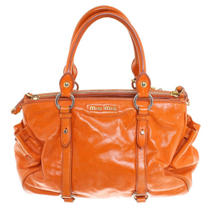 Miu Miu Handbag in orange