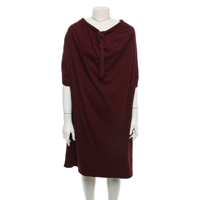 By Margiela A Maison Vestito Oversize Hand Mm6 Second Bordeaux fbyY7g6