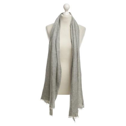 Brunello Cucinelli Cashmere sciarpa in grigio