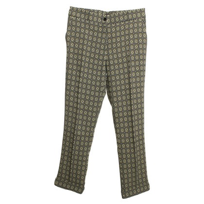 Etro 7/8 trousers with patterns