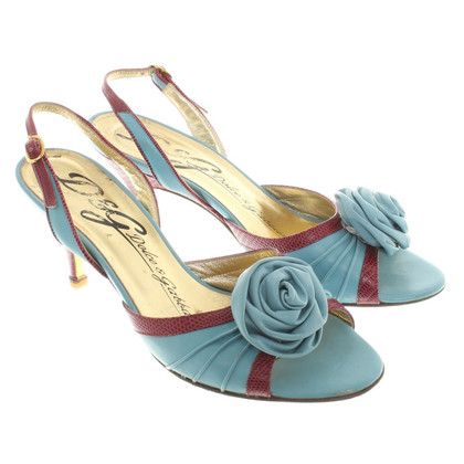 Dolce & Gabbana pumps in turchese