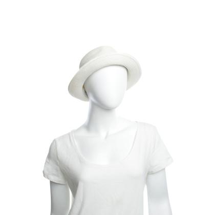Melissa Odabash Off-white cappello estivo