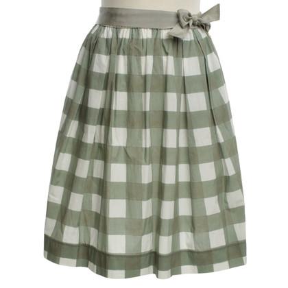 Woolrich skirt with diamond pattern
