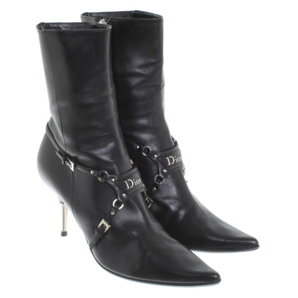 Christian Dior Leather boots