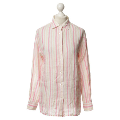 Loro Piana Linen blouse with stripes