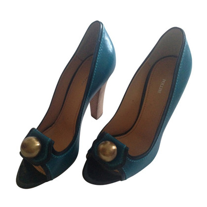 Pollini Peep-toes with bronze details