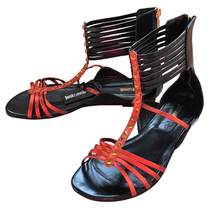 Just Cavalli Sandalen im Gladiator-Look
