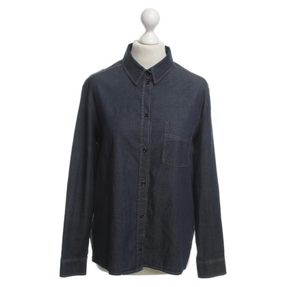 Luisa Cerano Denim shirt in Blauw