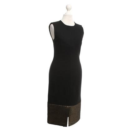 """Diane von Furstenberg Dress """"Blee"""" with gold-colored trim"""