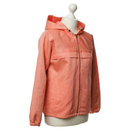A.P.C. Salmon jacket with hood