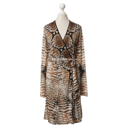 Hale Bob Print wrap dress