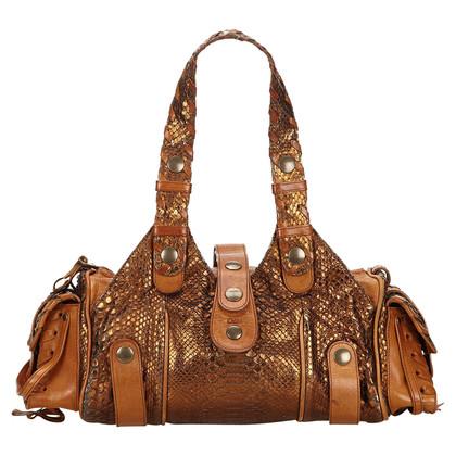 Chloé Handbag made of python leather