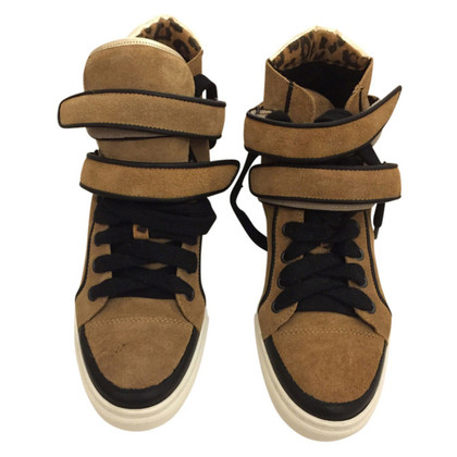 Maje High Top Sneakers