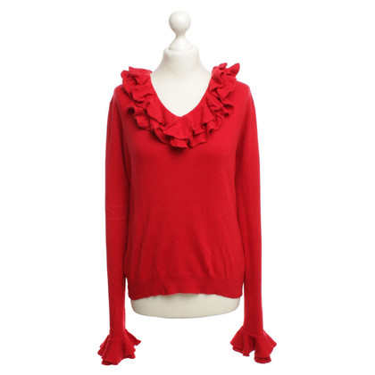 Ralph Lauren Red knit pullover