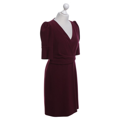 Hoss Intropia Bordeauxfarbenes Kleid