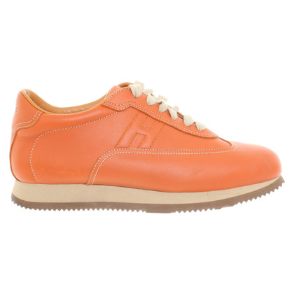 Hermès Sneakers in oranje