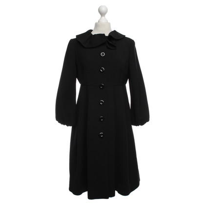 Moschino Cheap and Chic Wool coat in black